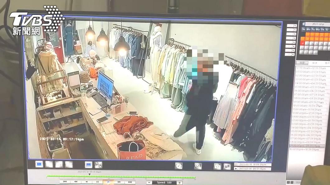 圖/翻攝自當事人臉書 誆幫老婆買衣!店員控潮衣男 闖櫃檯竊財