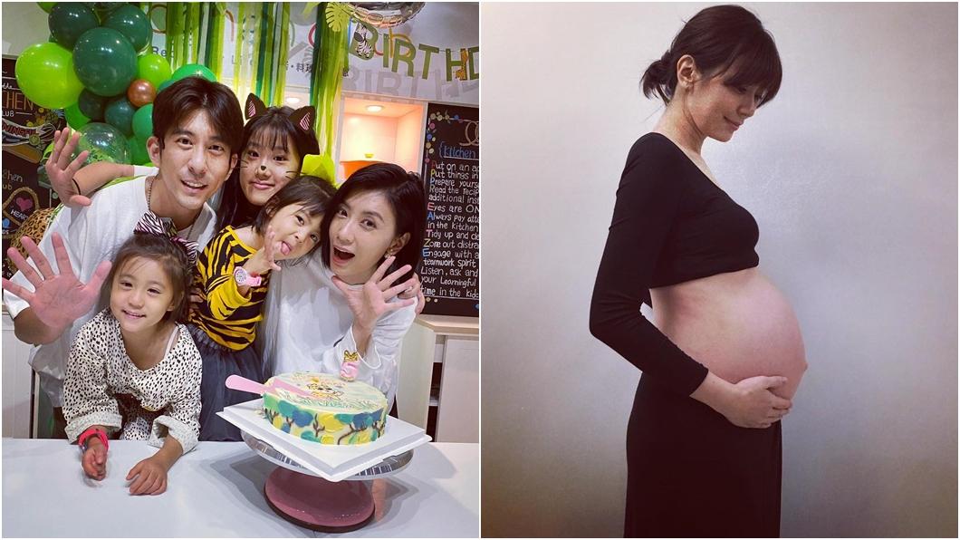賈靜雯已經生了3個女兒。(圖/翻攝自賈靜雯臉書) 脫口遭瘋猜懷第4胎 賈靜雯首吐「實情」:放過我