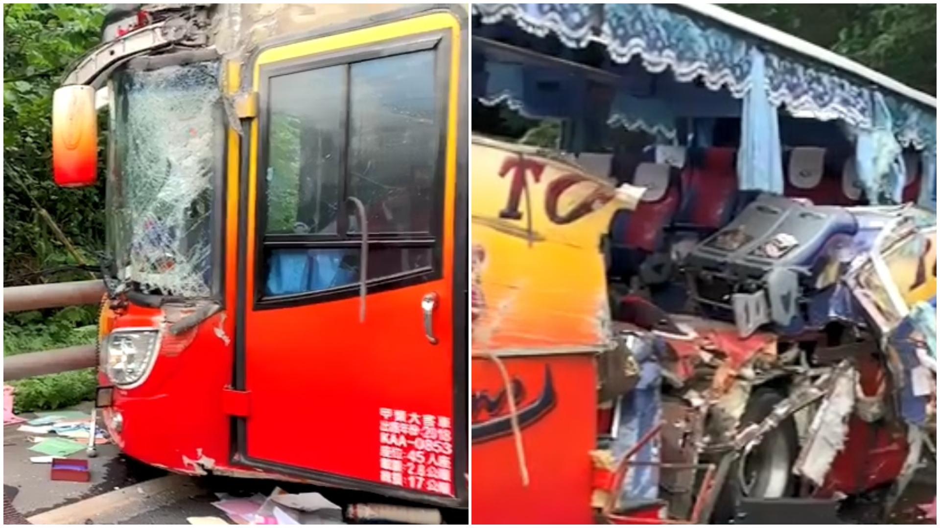 圖/TVBS 蘇花遊覽車事故理賠 金管會:均由華南產險承保
