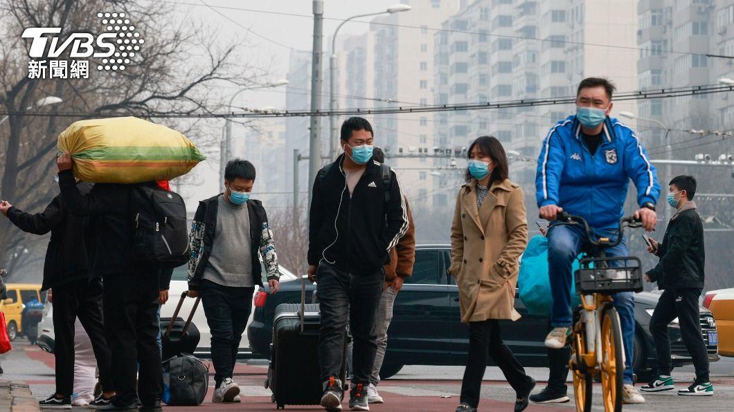 (圖/達志影像路透社) 大陸新增4例境外移入新冠肺炎確診 4例疑似病例