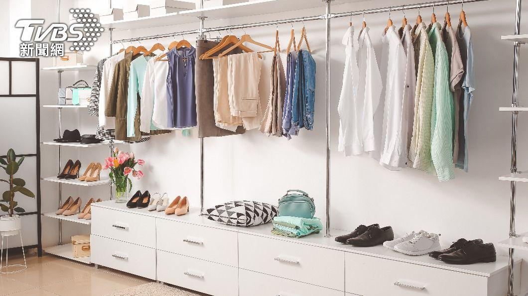 家中衣櫥代表財庫。(示意圖/shutterstock達志影像) 財運暴漲旺整年 揭「衣櫥招財術」免為錢煩惱