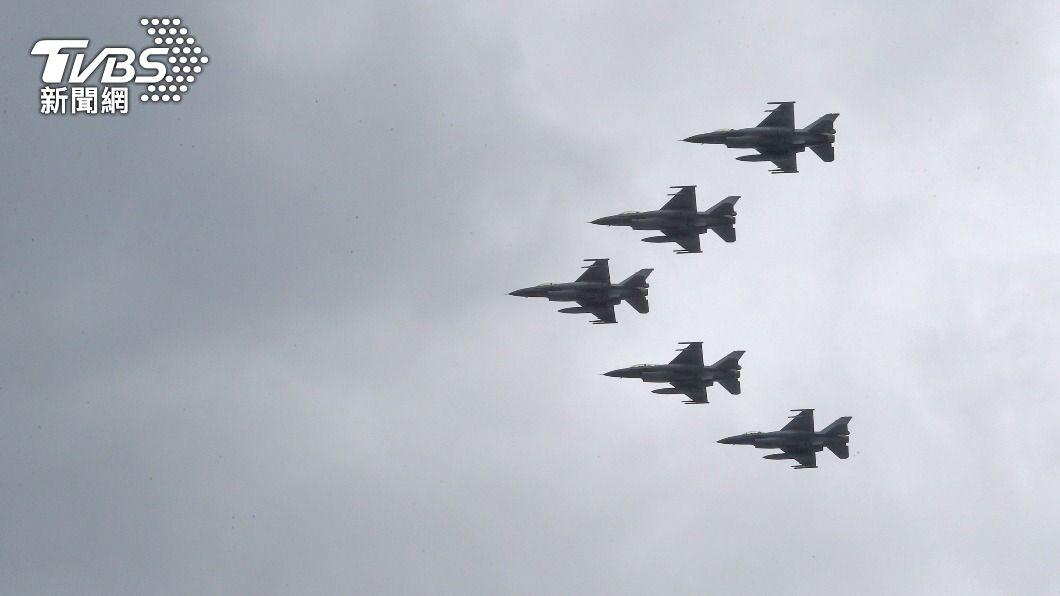 我國向美方軍購66架全新F-16V戰機。(圖/中央社) 配合新F-16V進駐 台東基地新設施2026年完工