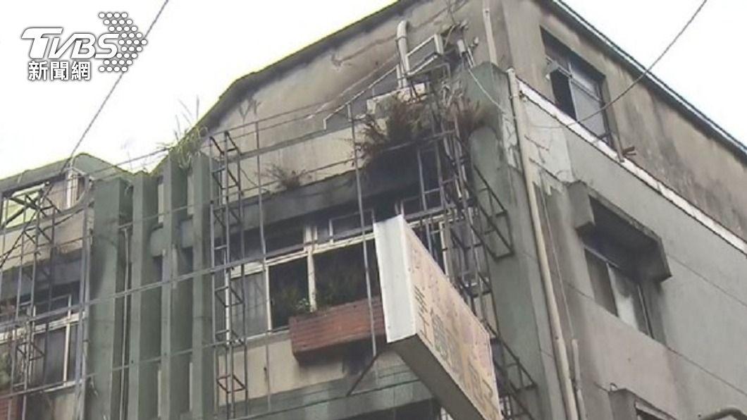 (圖/TVBS資料畫面) 中和違章公寓縱火害9命 女房東遭判刑2年