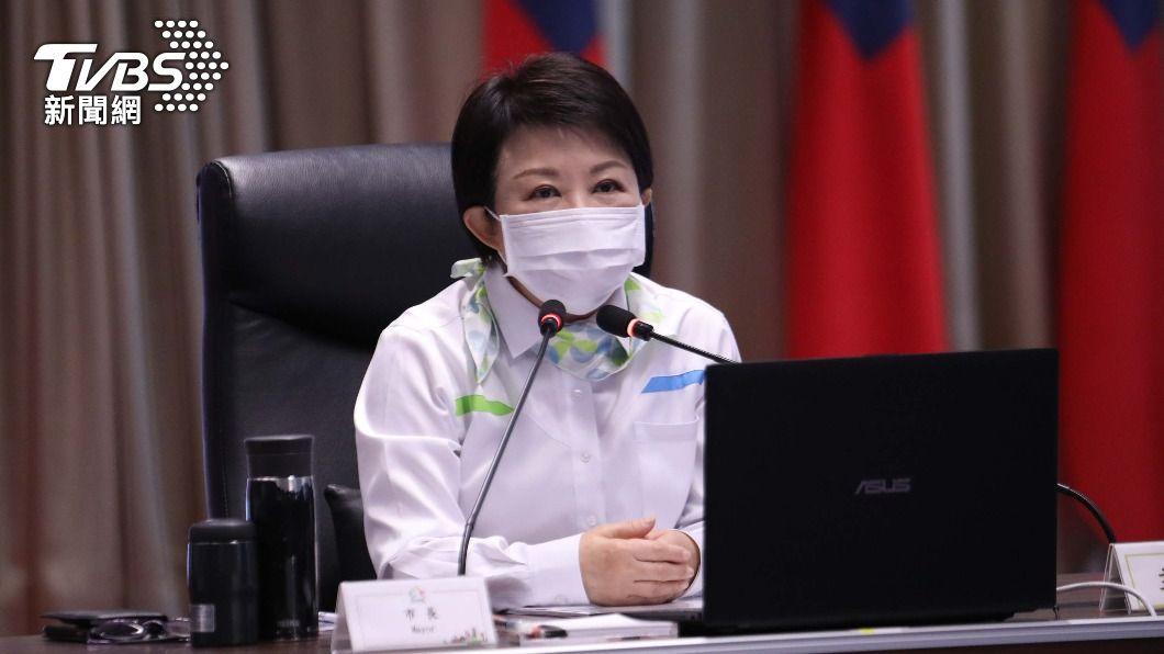 台中市長盧秀燕。(圖/中央社) 盧秀燕打完AZ疫苗精神不錯 中市部分首長發燒痠痛