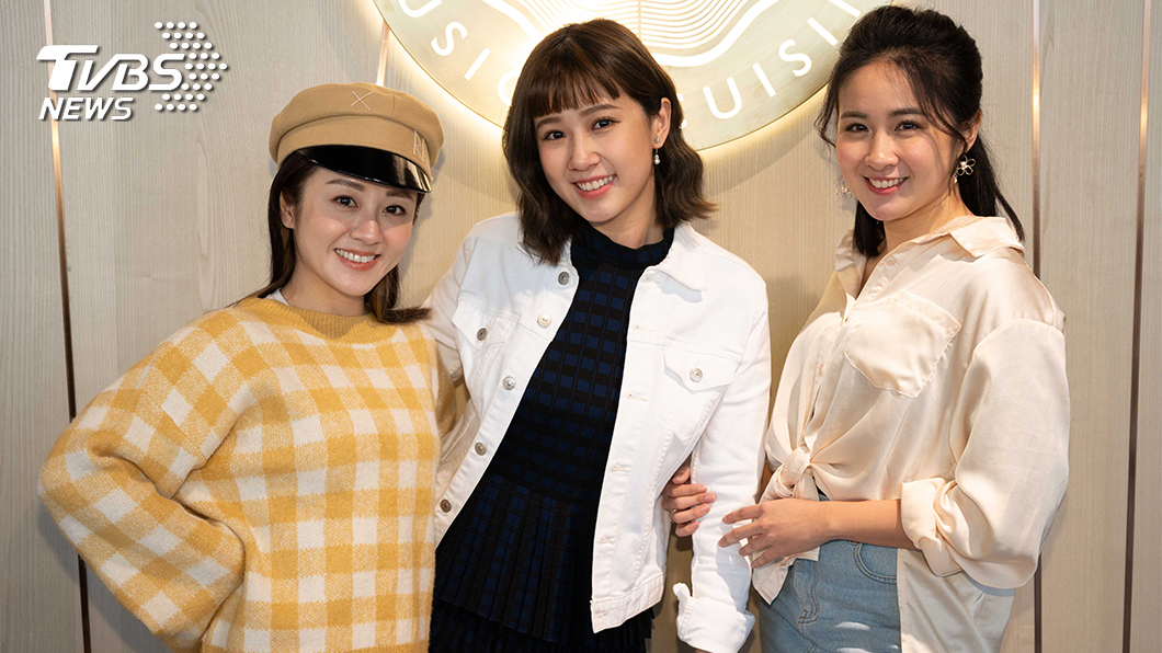 方志友加入女力與楊佩潔(左一)顏以娜(右一)閨密同住。圖/TVBS 方志友加入《女力報到-愛情公寓》被搭訕取決顏值
