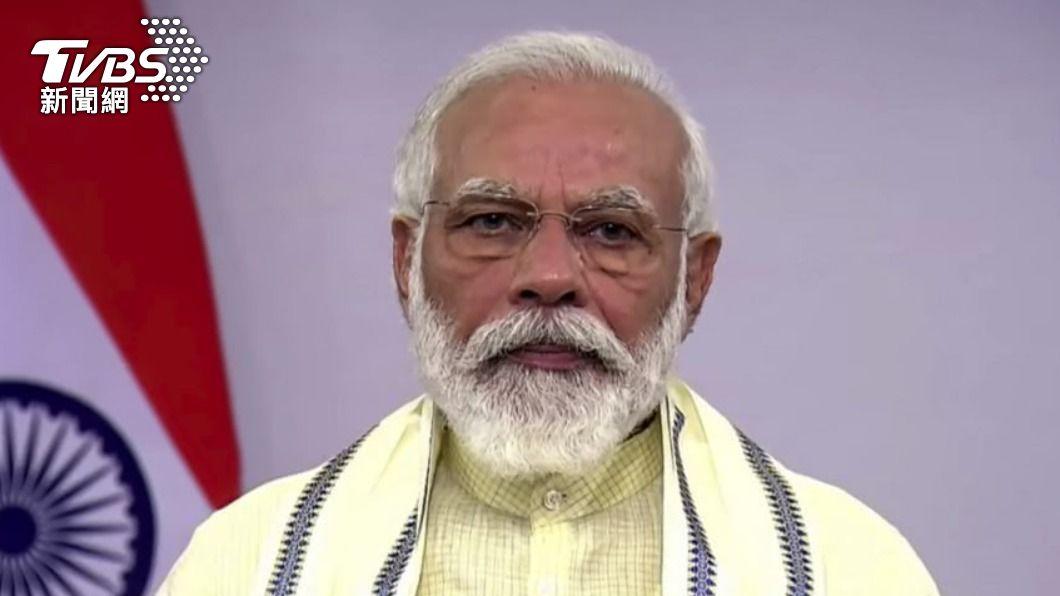 印度總理莫迪。(圖/達志影像美聯社) 死亡率全球最低!印第二波疫情來襲 總理憂「過度自信」