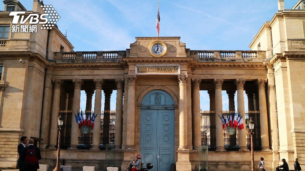 圖為法國國會。(示意圖/shutterstock 達志影像) 陸大使施壓訪台行 法外交部:議員有參訪自由