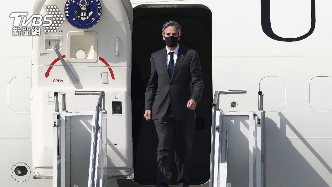美國國務卿布林肯訪問南韓。(圖/達志影像美聯社) 美中會晤將登場 美國務院重申關切台港新疆議題