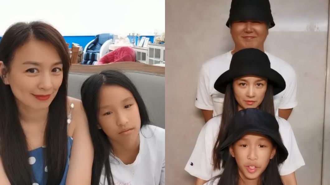 張庭與林瑞陽的女兒過去經常被批評長相。(圖/翻攝自張庭微博) 張庭女兒被笑「最醜星二代」 近況曝光驚艷酸民:逆襲了