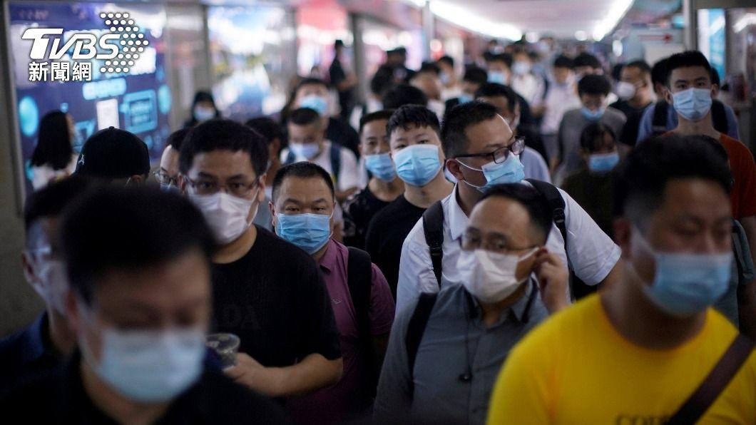 (圖/達志影像路透社) 時隔1個月 大陸再現1例新冠肺炎本土病例