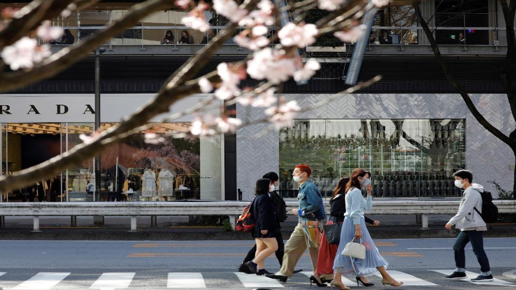 圖/達志影像路透 日本全面解禁 21號首都圈解除緊急狀態