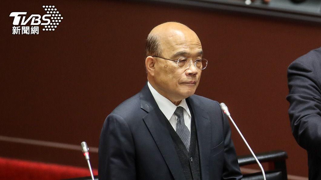 行政院長蘇貞昌。(圖/中央社) 專家指台海為戰爭熱點 蘇貞昌:備戰以止戰