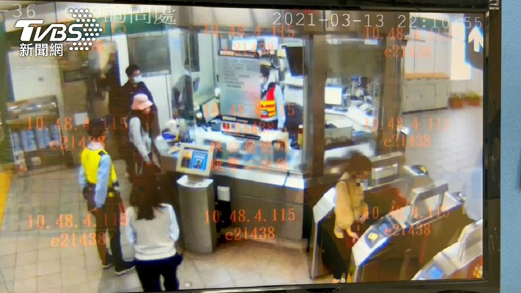 北捷對逃票女子提出刑事告訴。(圖/TVBS) 女逃票還狂歐站務員 遭北捷重罰7500、提告