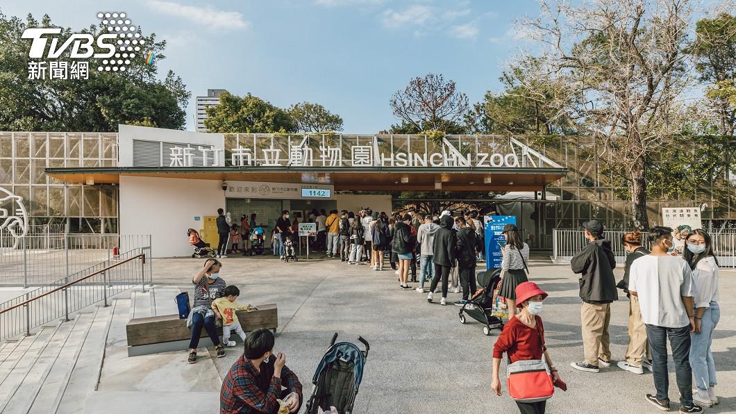 新竹市立動物園第200萬人次遊客將誕生。(圖/中央社) 幸運兒快來!新竹動物園第200萬人整年免費入園