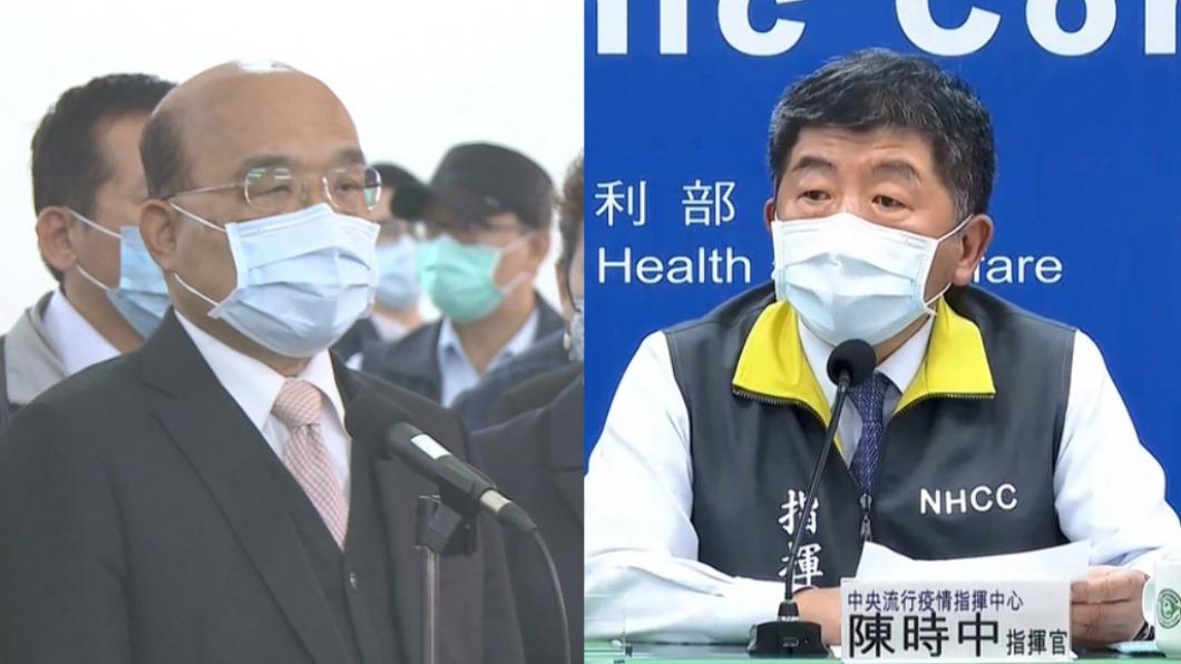 圖/TVBS資料畫面 快訊/蘇揆、陳時中明早7:40 台大醫院施打AZ疫苗