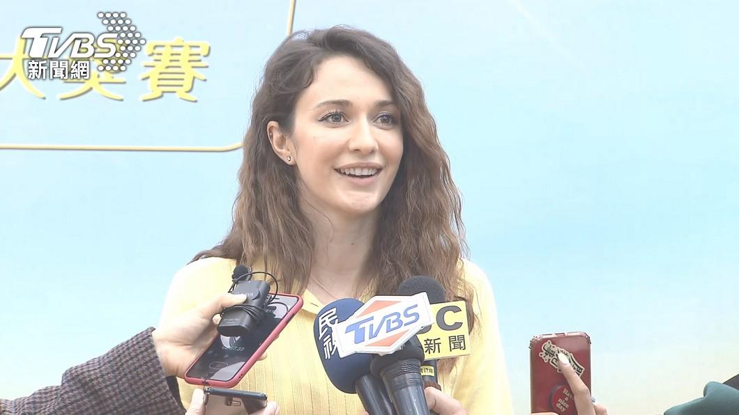 藝人瑞莎自費300萬籌辦韻律體操競賽。(圖/TVBS) 不只培訓台灣韻律體操選手 瑞莎自掏300萬籌辦競賽