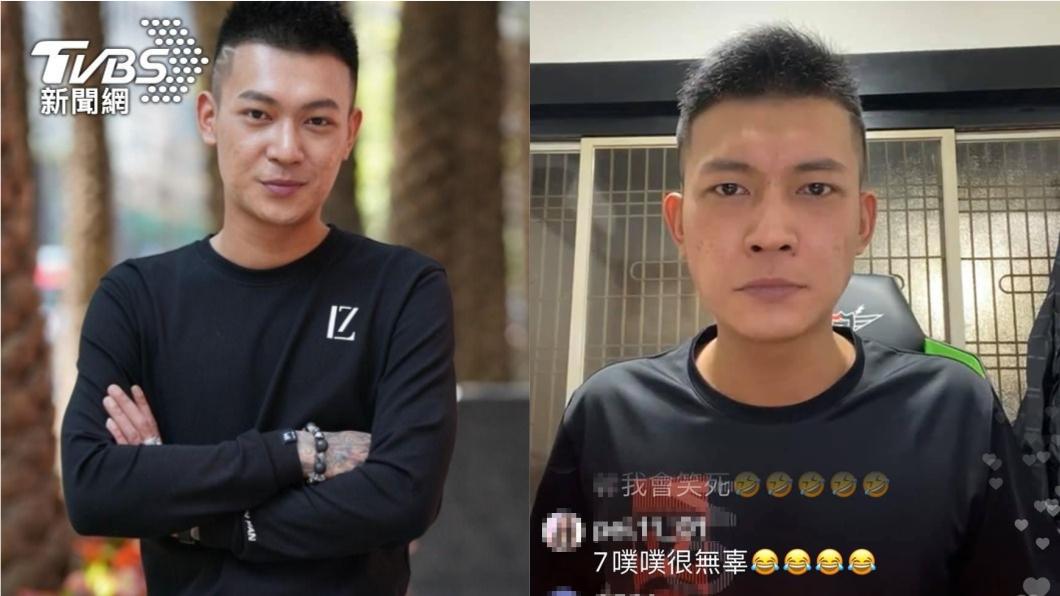 鳳梨粉絲專頁因被遭檢舉突然消失。(圖/TVBS、鳳梨臉書) 鳳梨爆紅後慘了!「粉絲團被消失」崩潰嗆:小懶X酸葡萄