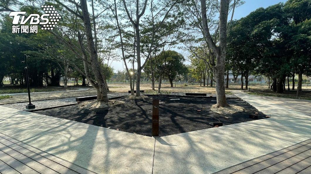 台南官田廢棄軍營變身成為大隆田生態文化園區。(圖/中央社) 台南舊營區變身新景點 「大隆田生態文化園區」開放了