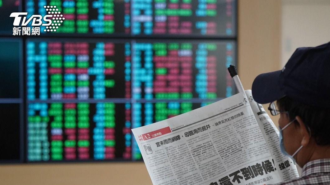 (圖/中央社) 台積電股價開盤跌3元 台股平盤震盪