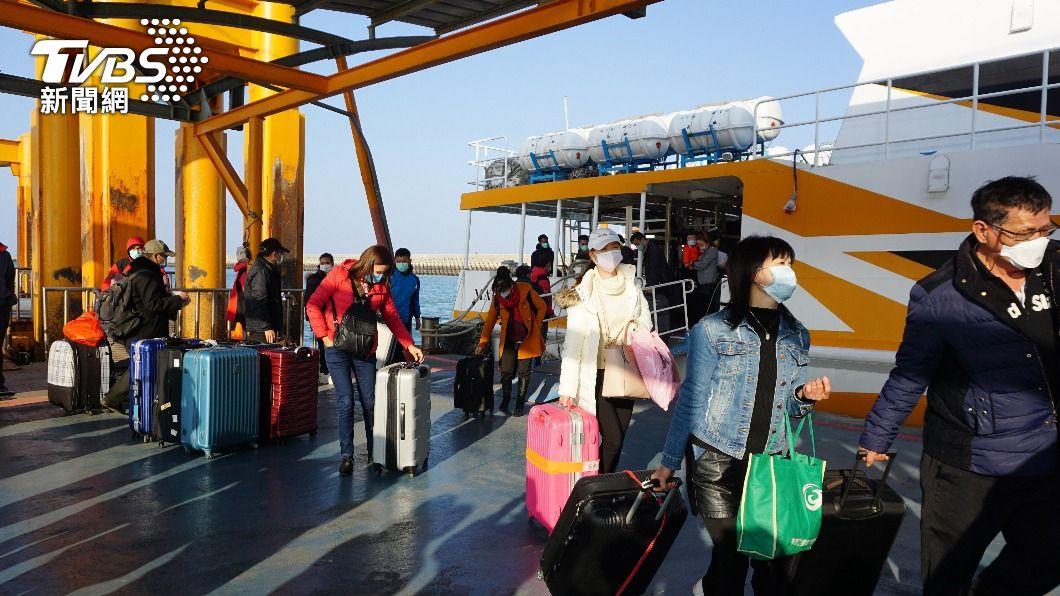 (圖/中央社) 兩岸人員運輸往來 邱太三:評估分階段恢復