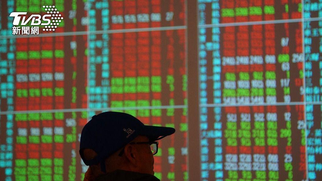 (圖/中央社) 台積電重登600元 台股漲140點再創收盤新高
