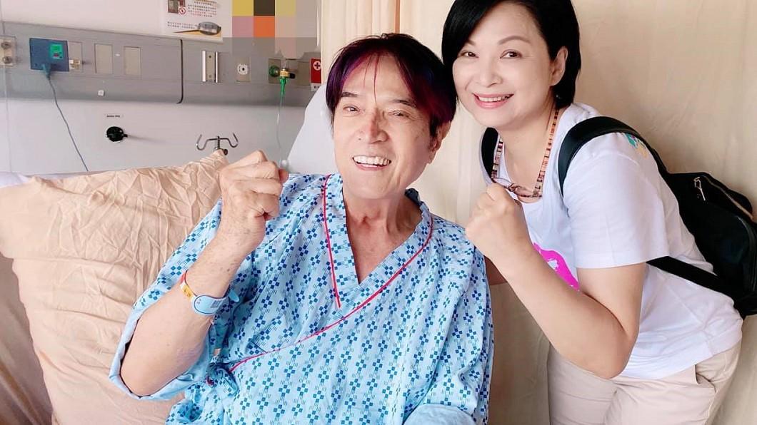 林沖因病暴瘦11公斤。(圖/翻攝自林沖臉書) 88歲歌王「血管破裂命危」瘦11公斤 搶救半月近況曝