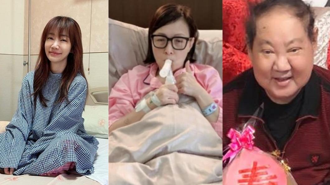 多位名人因肺腺癌所苦。(圖/翻攝自蕭彤雯、寶媽、林耿平臉書) 前主播蕭彤雯驚傳罹癌 8位名人飽受「肺腺癌折磨」