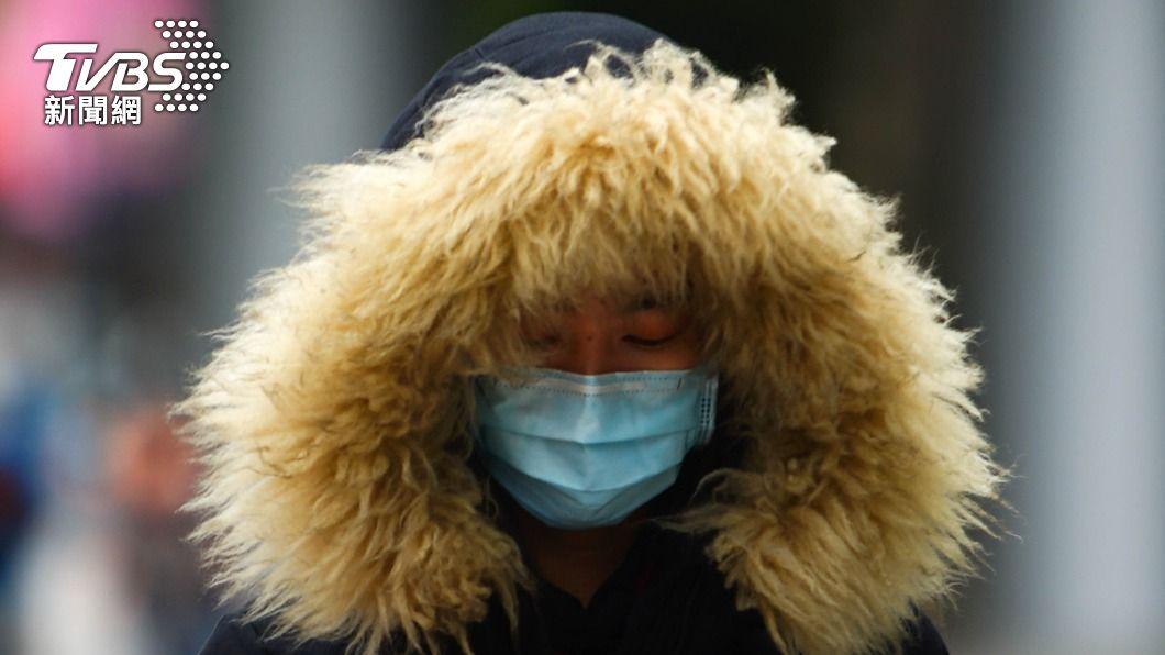 (圖/中央社) 大陸冷氣團影響 新北等4縣市防10度以下低溫