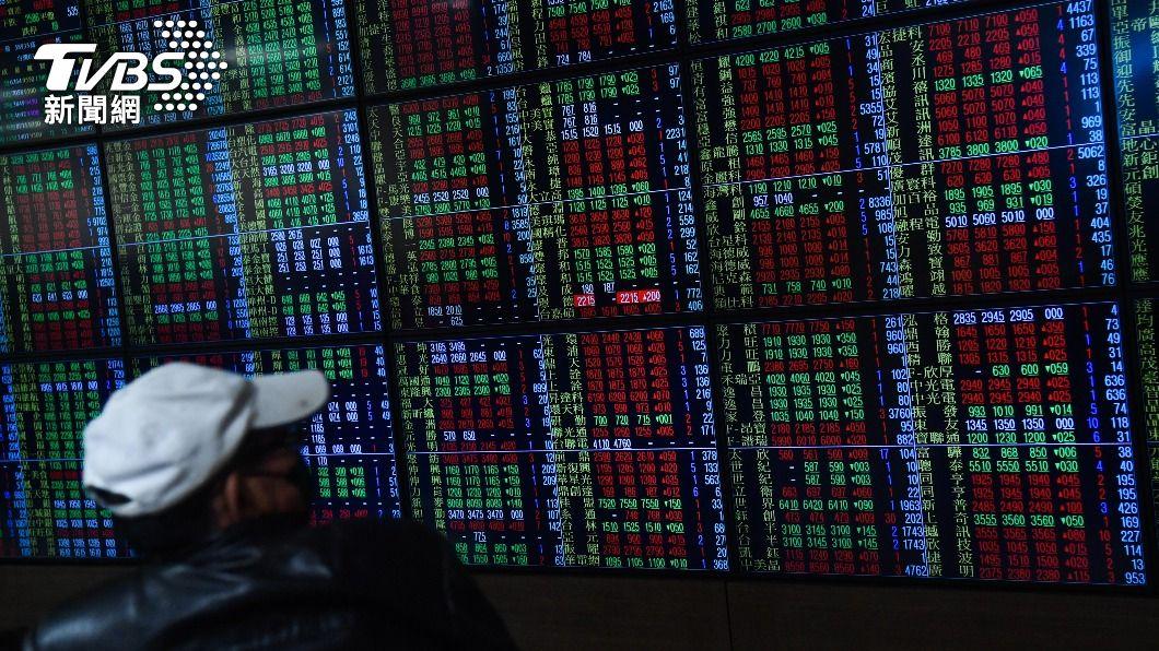 (圖/中央社資料照) 台股創高後收跌41.52點 爆6424億元大量