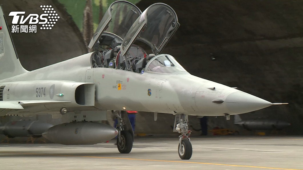 F-5型戰機在19年內發生9次失事。(非當事軍機,示意圖/TVBS) 19年內失事9次! 志航基地宣布「F-5戰機全停飛」