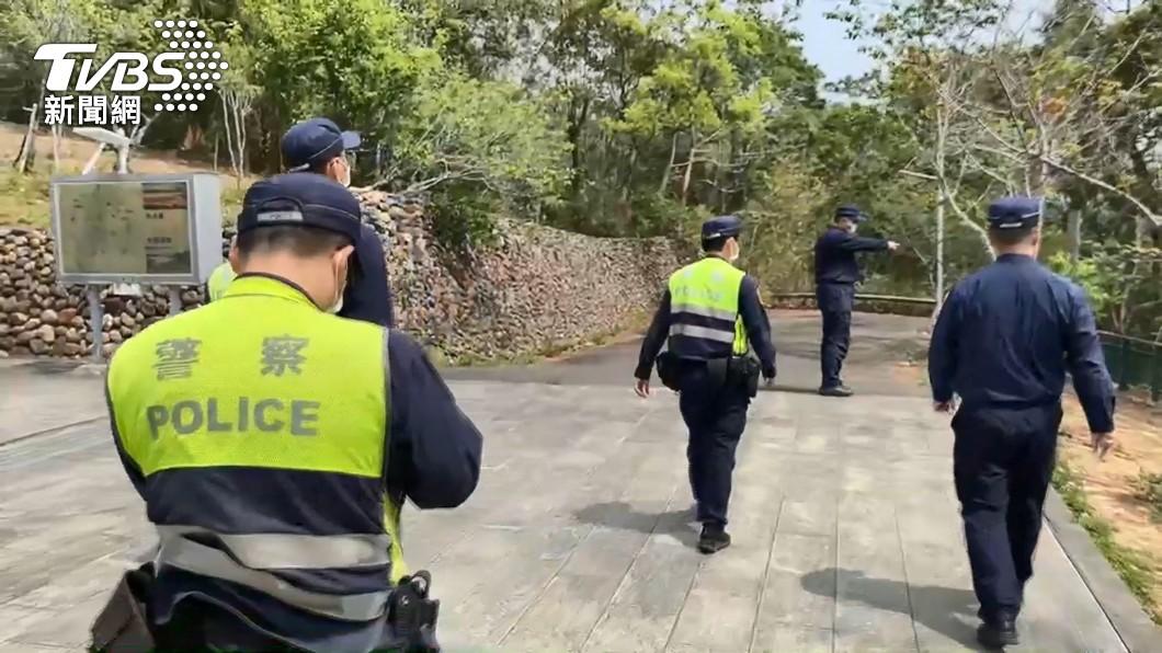 圖/TVBS 護理師遭綁樹搶劫「只剩內褲」 摸黑求救