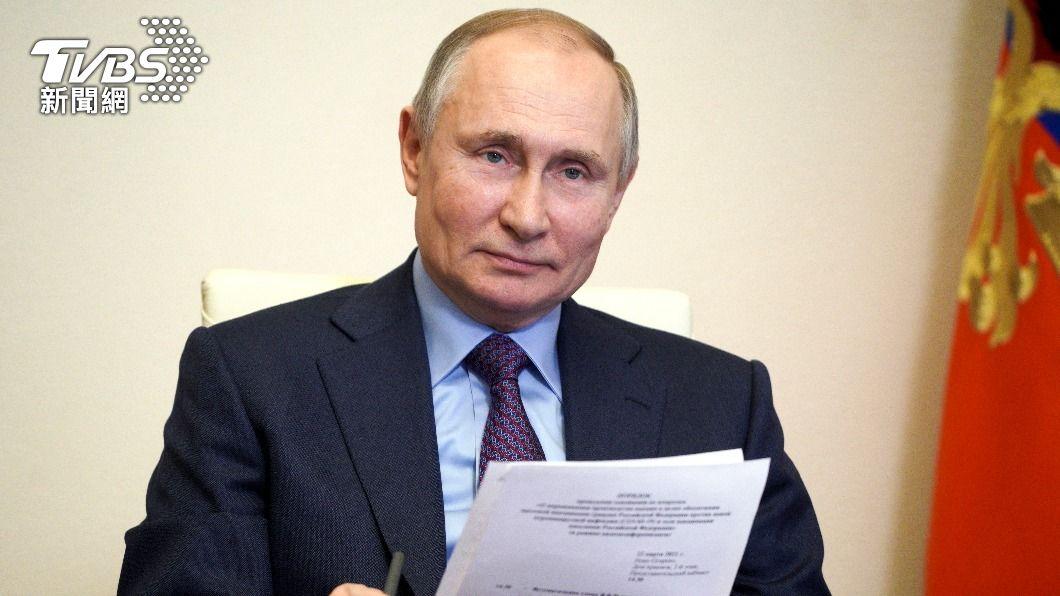 普欽打算接種新冠疫苗。(圖/達志影像美聯社) 普欽擬23日接種疫苗 逾430萬俄國人已打完兩劑