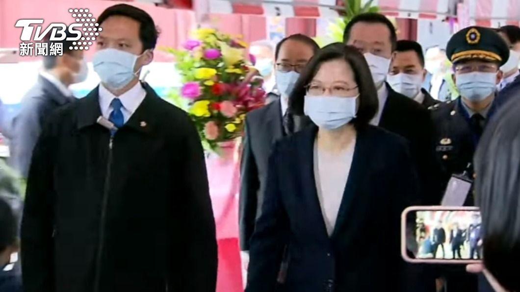 圖/TVBS 快訊/蔡英文下午將抵台東 弔殉職飛官羅尚樺