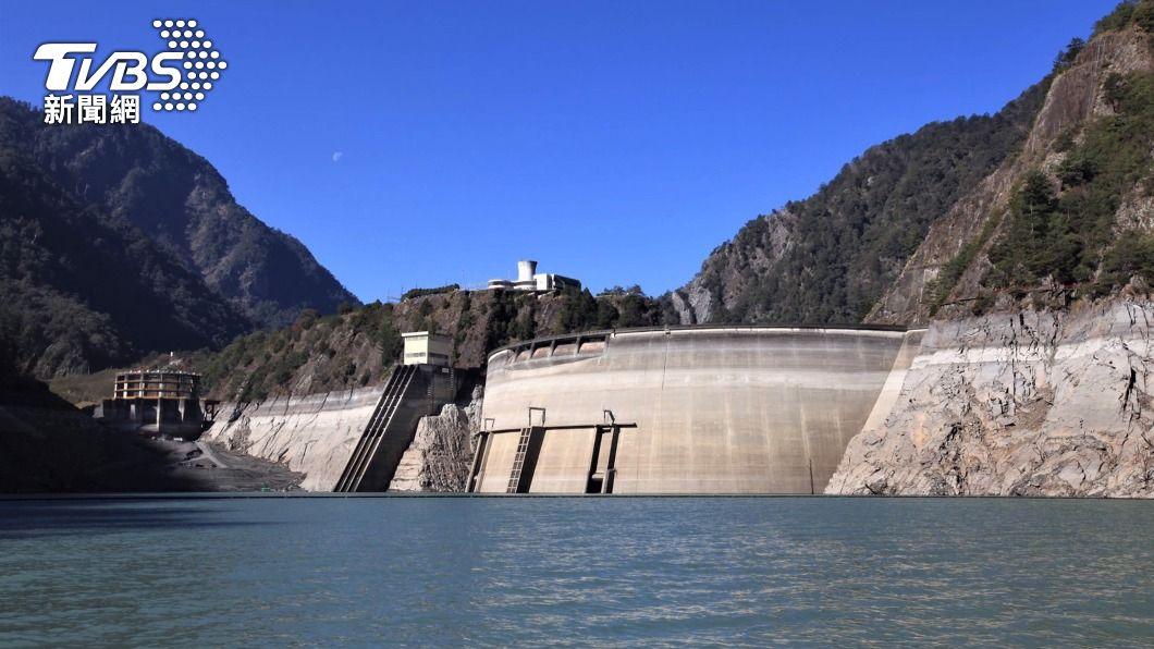 (圖/中央社) 春雨太少中南部水庫依舊好渴 多數蓄水率不到2成
