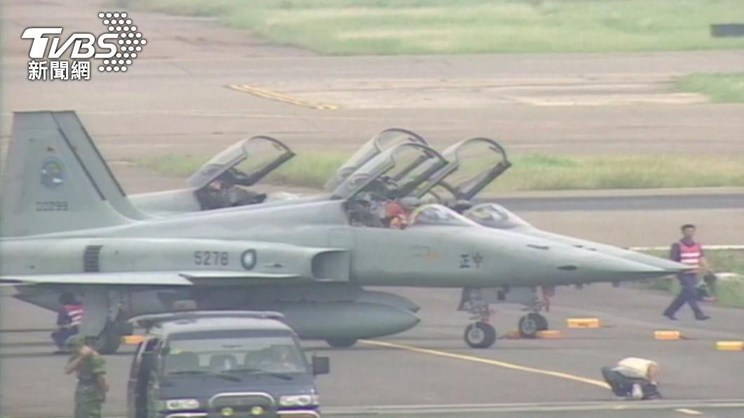 F-5E擦撞!求救對話曝光、急喊「下去了」