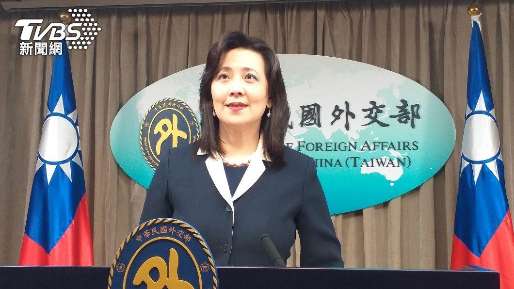 外交部發言人歐江安。(圖/中央社) 外交部:感謝美議員力挺台灣 持續推動洽簽FTA