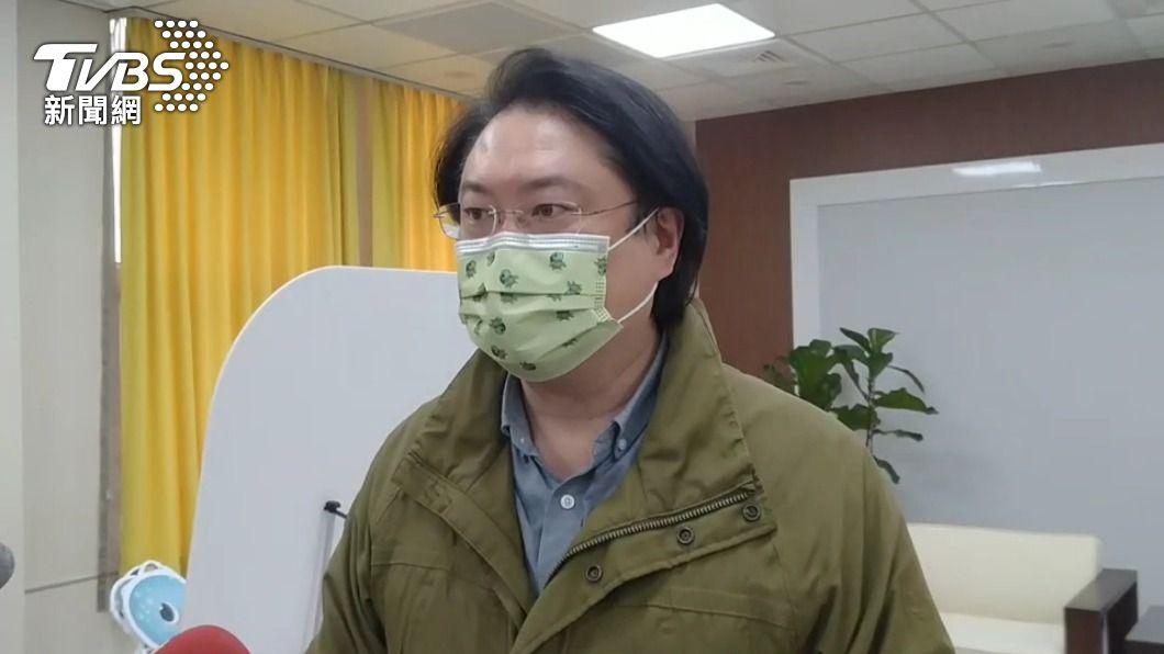 基隆市長林右昌。(圖/中央社) 是否施打AZ疫苗? 林右昌:遵照指揮中心安排