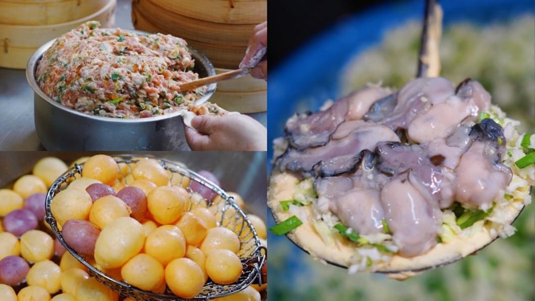 《食尚玩家》蒐集雙北15間必吃銅板美食。(合成圖/食尚玩家) 銅板美食懶人包 雙北暴紅小吃「蒸餃、蚵嗲」都入列