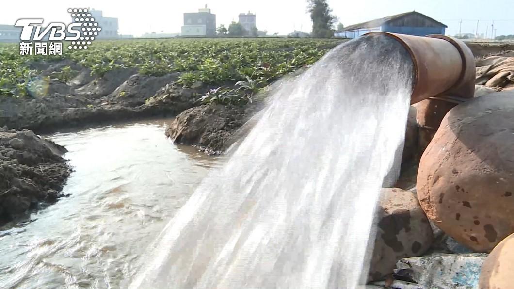 (圖/TVBS) 江啟臣:政府強徵農田水利會 農民成耗水代罪羔羊