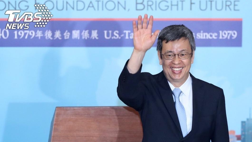 圖/TVBS 資料畫面 陳建仁比媒專訪 台灣盼6月前展開大規模接種疫苗