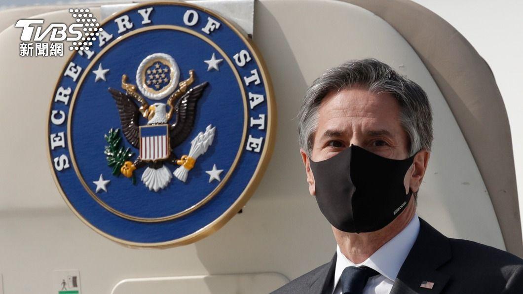 美國國務卿布林肯與國防部長奧斯丁從亞太地區回國後,北韓很快試射短程飛彈挑釁。(圖/達志影像路透社) 美國國務卿和國防部長才離開 北韓就試射飛彈