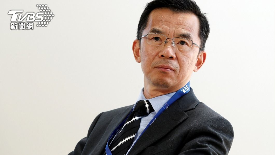 中國駐法大使盧沙野提及台灣卻被打斷。(圖/達志影像路透社) 盧沙野提台灣被打斷 陸大使成法中關係問題