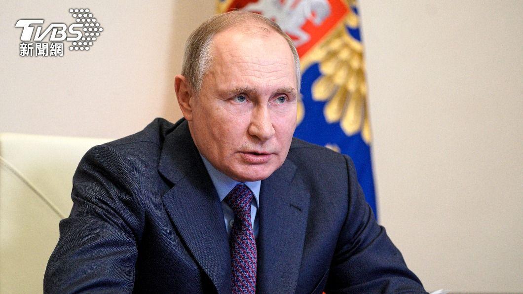 俄羅斯總統普欽。(圖/達志影像美聯社) 普欽接種俄羅斯國產疫苗 「拒鏡頭拍攝」過程低調