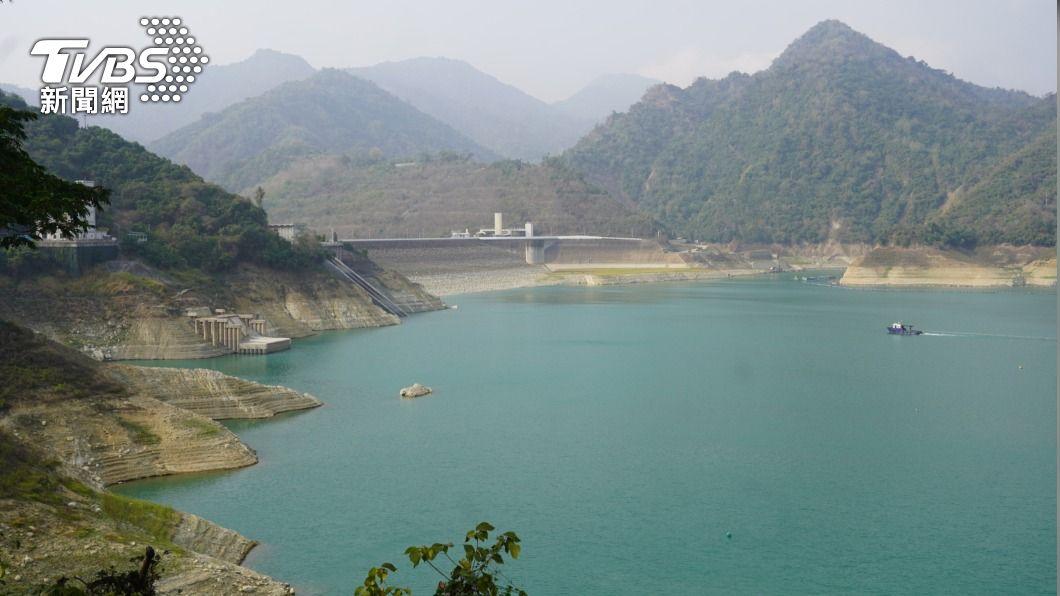 圖為曾文水庫。(圖/中央社) 水庫估進帳1150萬噸 水利署:把握機會人工增雨