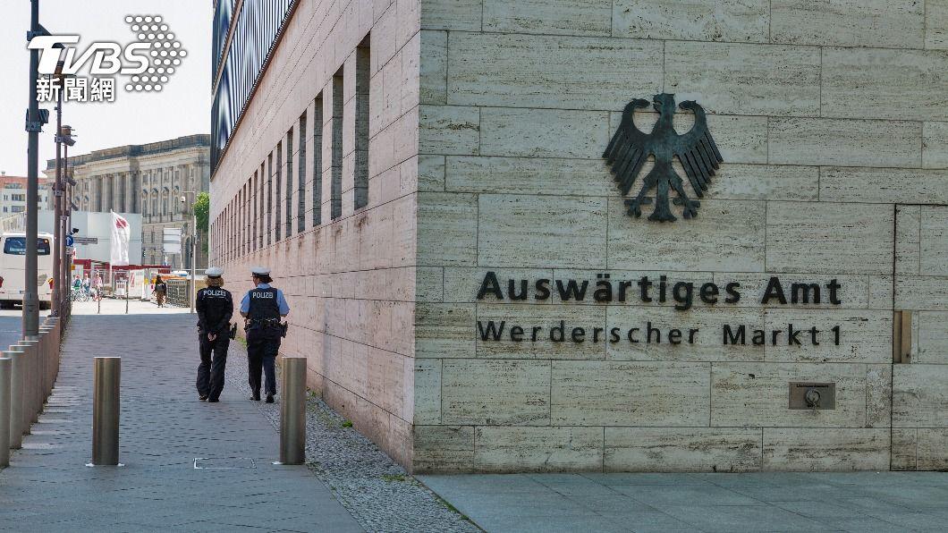 德國外交部。(示意圖/shutterstock 達志影像) 不滿北京制裁議員和學者 德國召見陸大使
