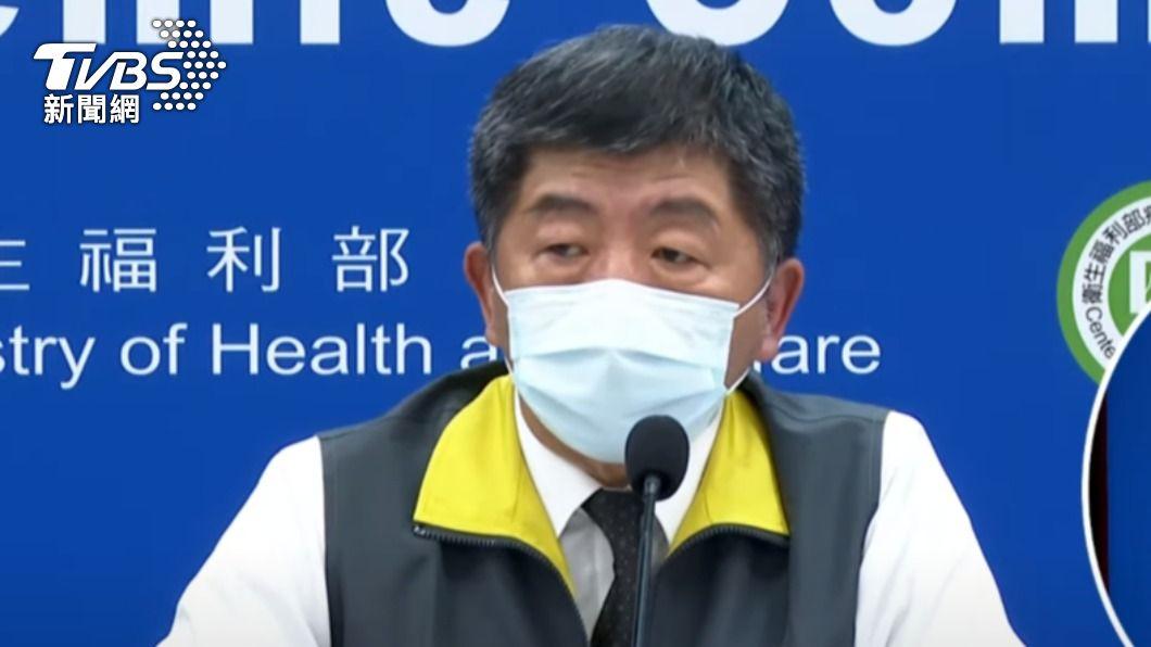 衛福部長陳時中。(圖/TVBS) 模里西斯本土疫情升溫 即日起自中低風險國家移除
