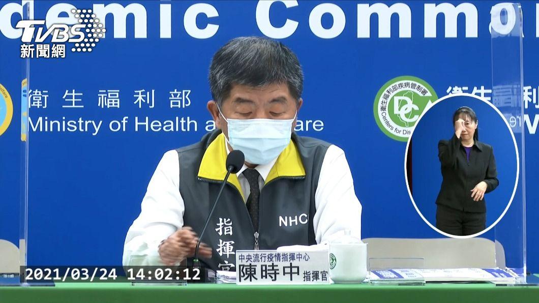 指揮中心指揮官陳時中。(圖/TVBS) 立院成立疫苗採購調閱小組 陳時中:尊重