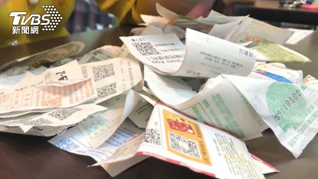 (圖/TVBS資料畫面) 1、2月發票中獎清冊出爐 花23元買飲品中千萬大獎