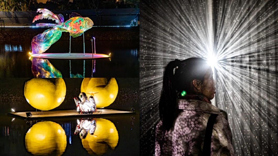 (往年展出畫面,合成圖/翻攝自月津港燈節 yuejin lantern festival臉書) 展期長達23天!超夯燈節夏季開跑 美照拍不完