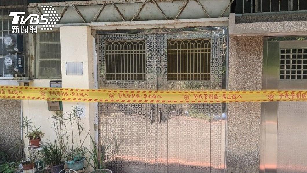 台南驚傳情殺案件。(圖/TVBS) 台南男遭分手 怒砍「女友母、阿嬤」洩恨噴血1死1傷